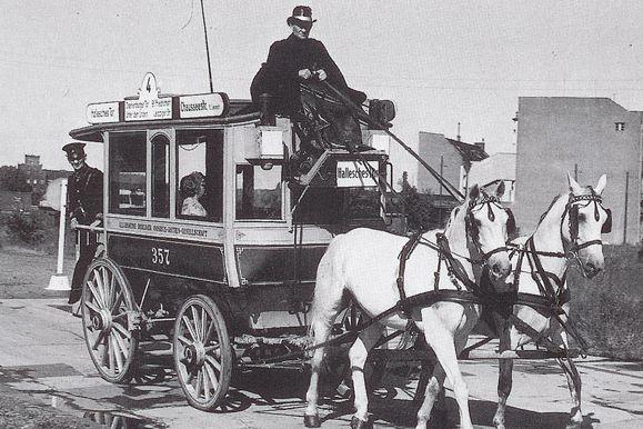 Předchůdce dnešních strojů - omnibus