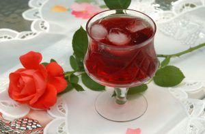 Jeges tea hibiszkuszból