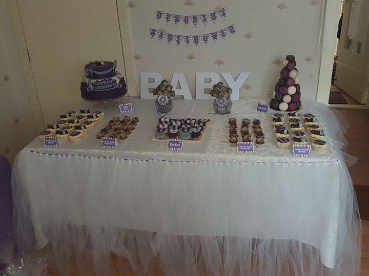 Babyshower dessert table