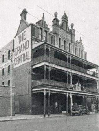Art deco: The Grand Central Backpackers on Wellington St as it was in the early 1900s.