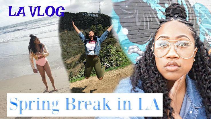 VLOG: SPRING BREAK IN LOS ANGELES, YOU'LL NEVER GUESS WHAT WE DID