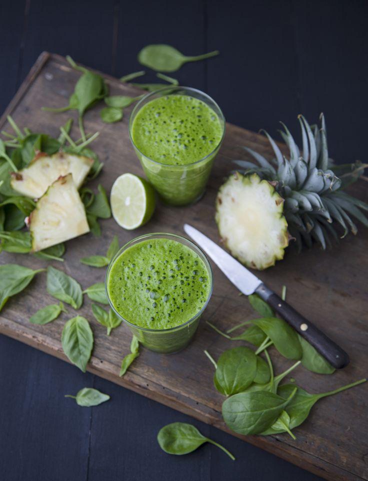 Ananas, basilic, citron vert : un trio punchy pour tonifier et draineEditions La Plage
