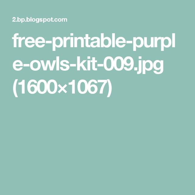 free-printable-purple-owls-kit-009.jpg (1600×1067)