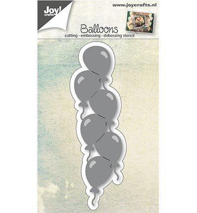 Joy Cutting & Embossing stencil Ballonnenrand
