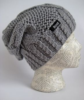 Stylish slouchy beanie hat for women. Warm winter hat. Simple but stylish best selling beanie.