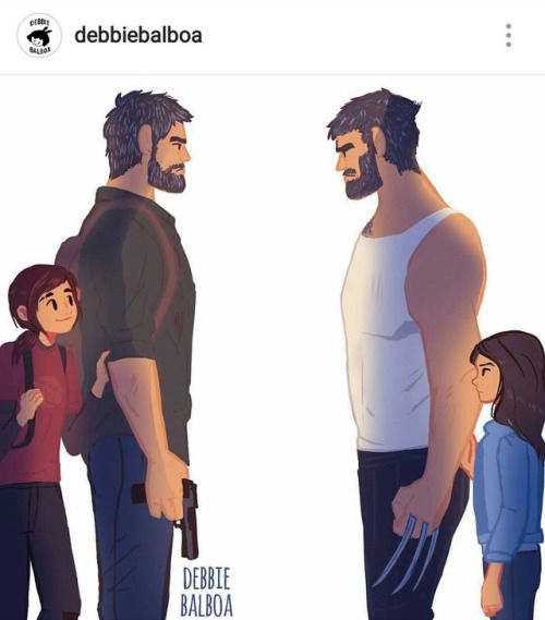AS SOON AS I HEARD ABOUT LOGAN AND HIS DAUGHTER I IMMEDIATELY THOUGHT ABOUT TLOU
