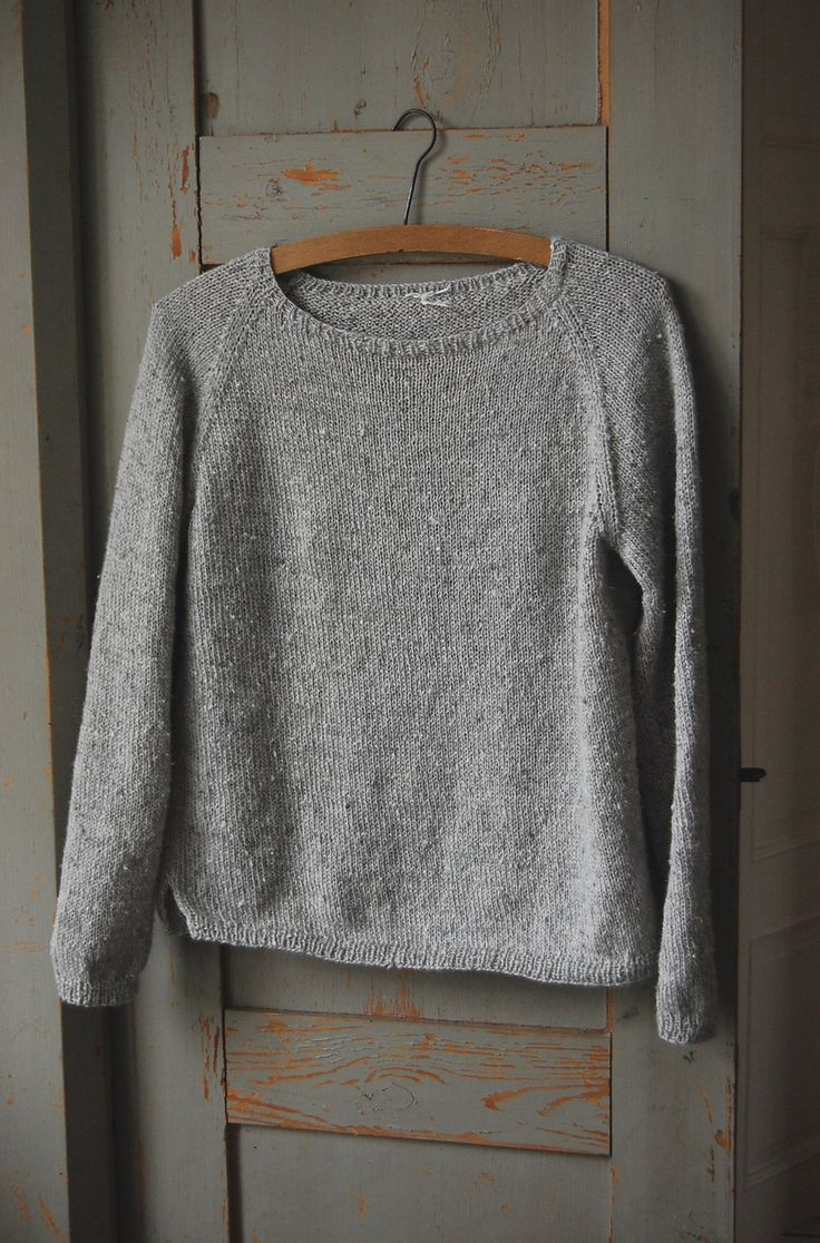 Silk Gray Pullover By Gralina Frie - Free Knitted Pattern - (ravelry)