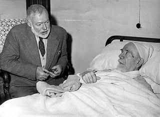 Hemingway y Pío Baroja