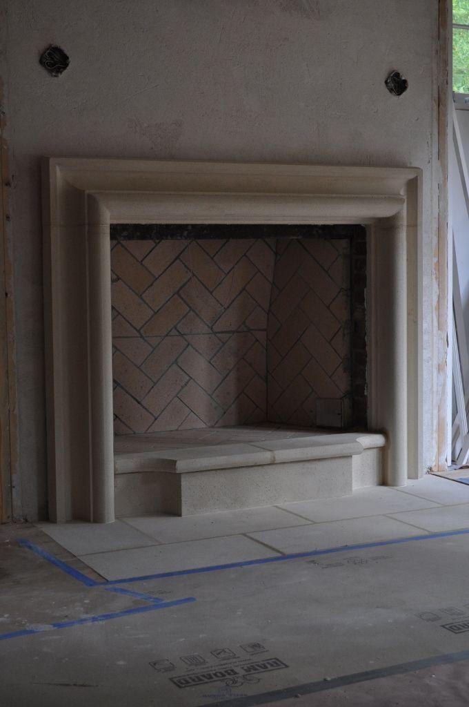 25 Best Ideas About Limestone Fireplace On Pinterest