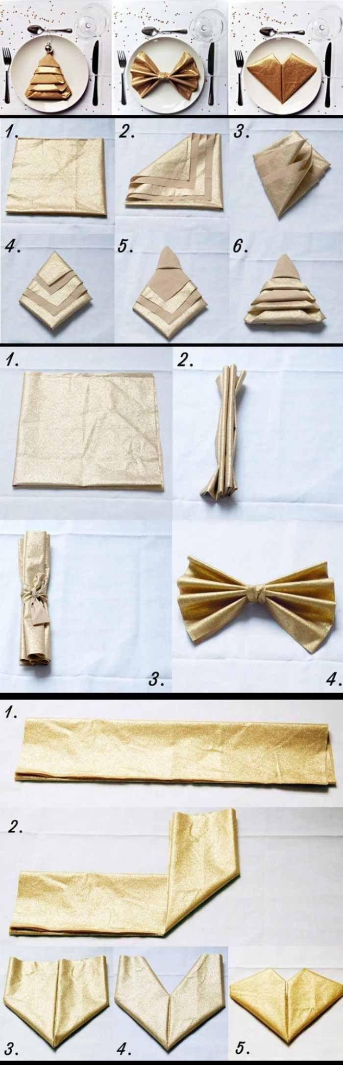 25 einzigartige servietten falten silvester ideen auf pinterest servietten dekorationen. Black Bedroom Furniture Sets. Home Design Ideas