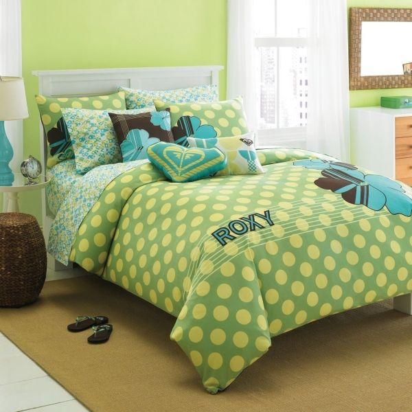 Blue Roxy Bedding