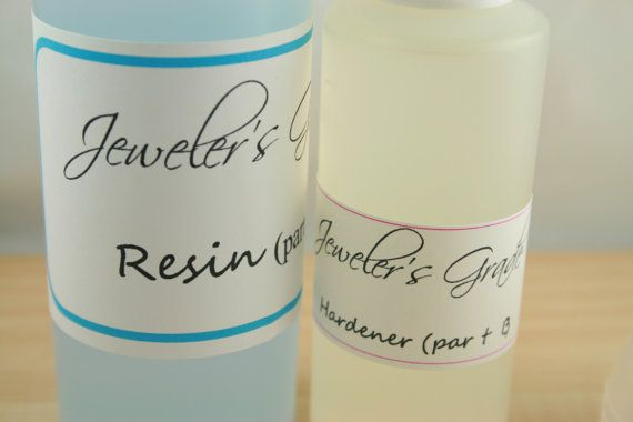 Liquid Resin. Doming Epoxy Resin. Jewelry Grade Resin. Non-toxic Clear Epoxy Resin Kit. 6 oz. 2 part Doming Resin