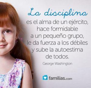 Un niño disciplinado está en vías de ser estable, exitoso y feliz