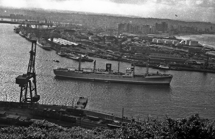 Durban harbour, South Africa, 24 December 1965  |  ALLEN E SCHULTZ PHOTOGRAPHY