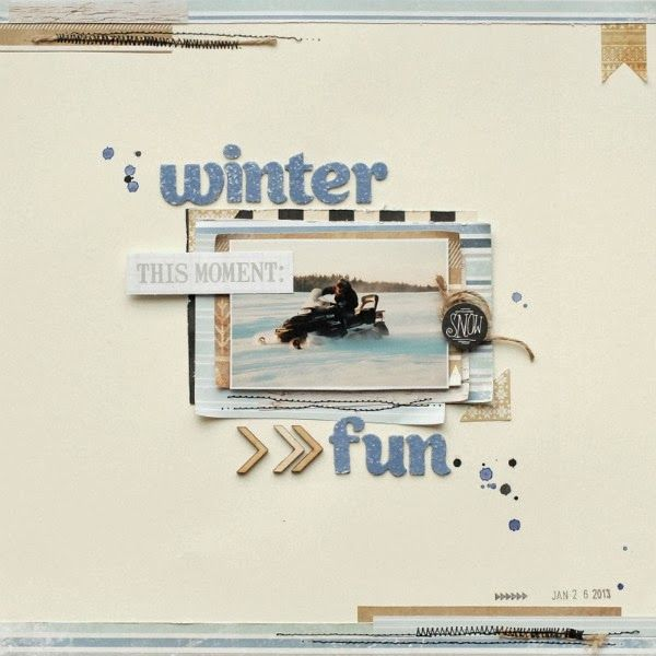 scrapki.pl: Winter Fun by Ulietta