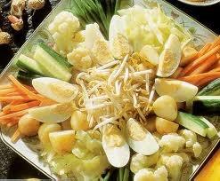 Gado Gado (Tofu and Vegetable Salad with Peanut Dressing)