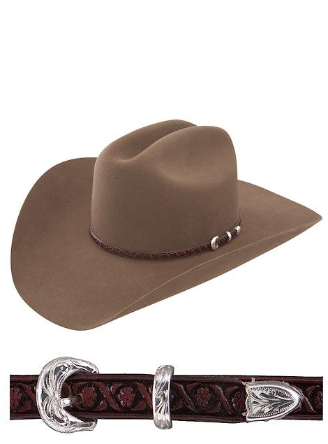 Stetson Hats New Frontier South Point SFSTPT-7240-11 Acorn cowboy hat  #stetson