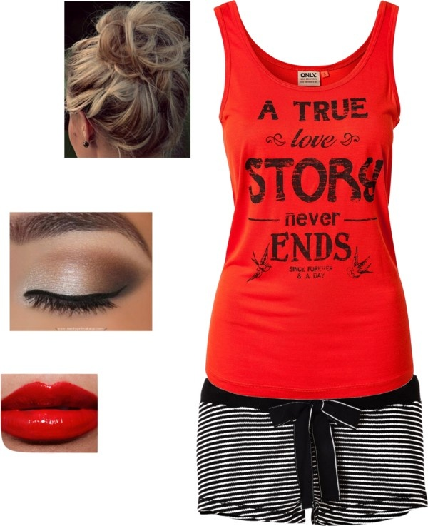 """""""Love Story pj's"""" by callico32 on Polyvore"""