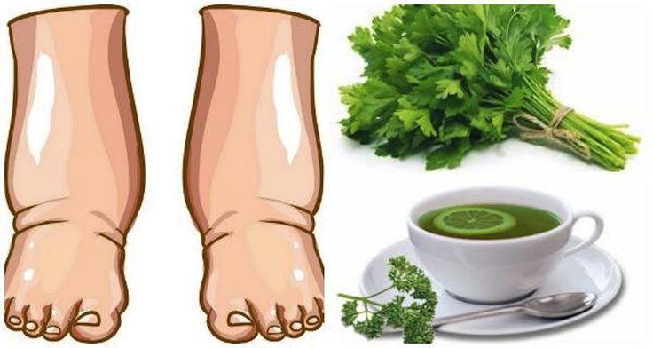 Bevi questo potentissimo tè fatto in casa e il gonfiore alle gambe scomparirà in…