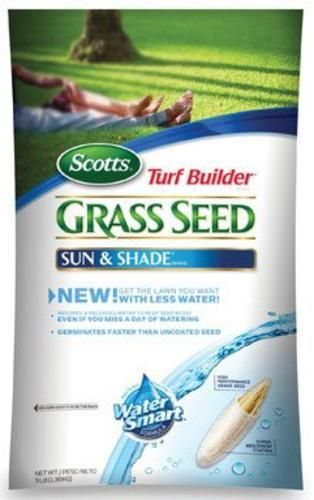 Scotts 18225 Turf Builder Sun And Shade Grass Seed, 3 lbs
