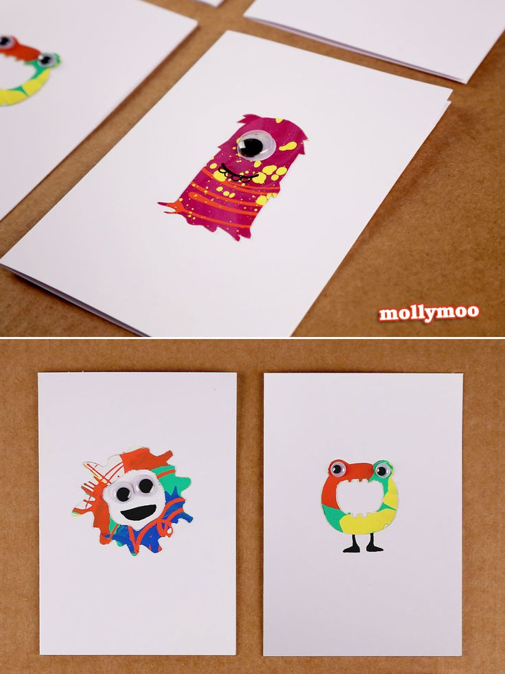 22 best images about opdracht monsters on pinterest for Recycle stencil printable
