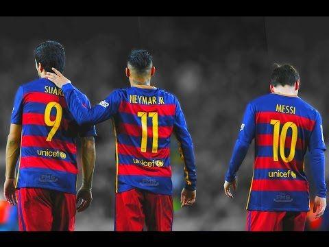 MSN  Messi - Suarez - Neymar   2016 HD