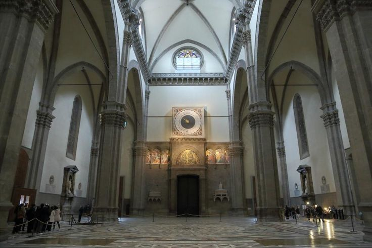 Санта-Мария-дель-Фьоре, Флоренция. Интерьер.