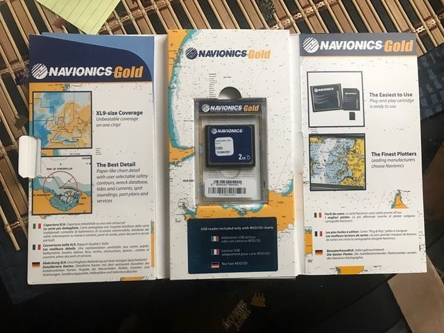 Navionics Gold CF/35XG China, Japan, Philippines, Korea