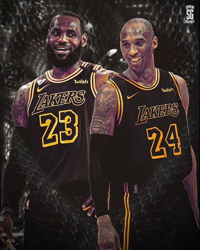 Lebron James On Instagram Rate The Black Mamba Jerseys From 1 100 In 2020 Lebron James Kobe Bryant Pictures King Lebron James