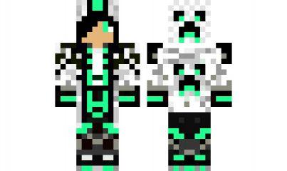 minecraft skin GreenBlueSwaggerBoy