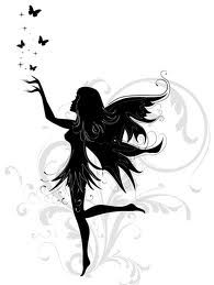 simple fairy silhouette - Google Search