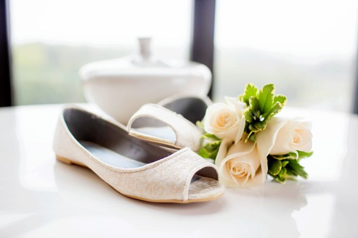 Amy Allen Photography. The Proximity Hotel, Bridal shoes