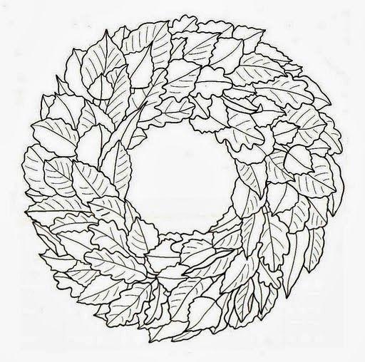 Kreatív gyűjteményem: Őszi üvegfestés - levelek, koszorúk