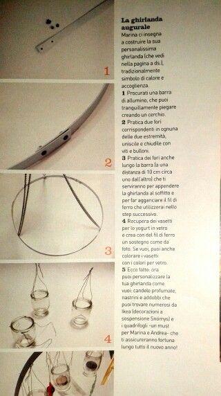 Come fare lampadario per le feste