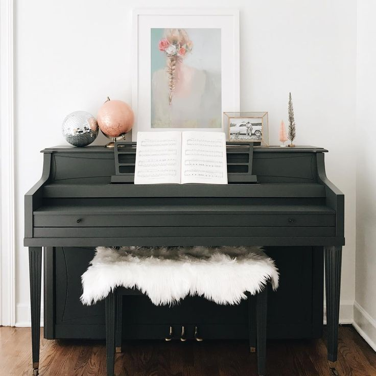"""3,509 Likes, 122 Comments - Jessica Garvin (@jlgarvin) on Instagram: """"PS. We finally painted our piano & it is ready for the holidays!! 🎶 Now we need to learn how to…"""""""
