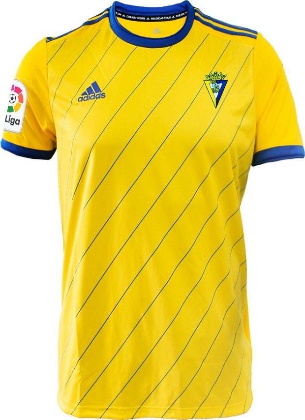 35968eafd0f1 Cadiz 18 19 home   kits   clubs   Soccer, Football jerseys, Soccer ...