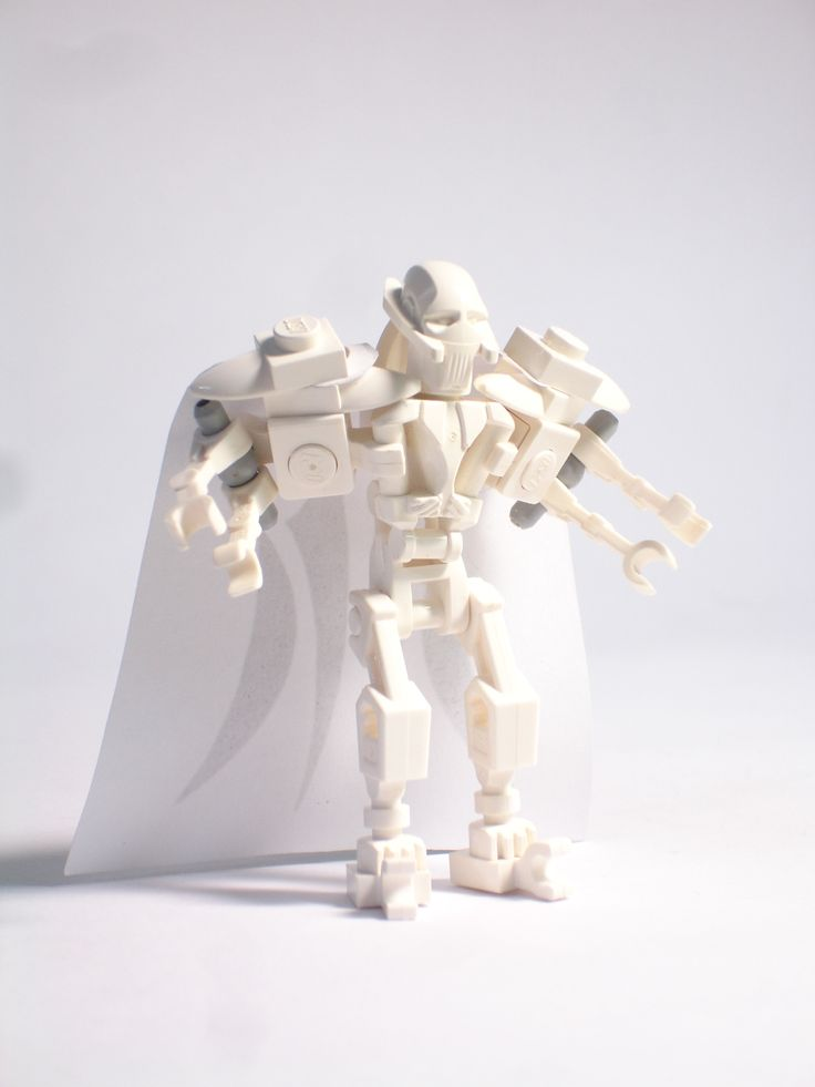 STAR WARS -- General Grievous: A LEGO® creation by Stephen Chao : MOCpages.com