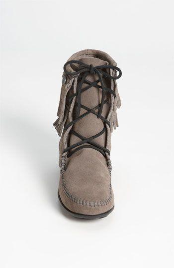 Minnetonka 'Double Fringe Tramper' Boot