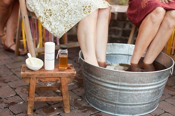 Spa-themed Bridal Shower Ideas