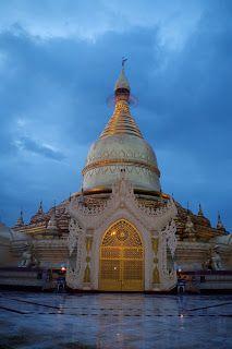 Yangon Pagoda Myanmar (Birmanie)