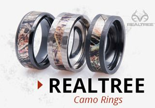 Realtree Camo Rings
