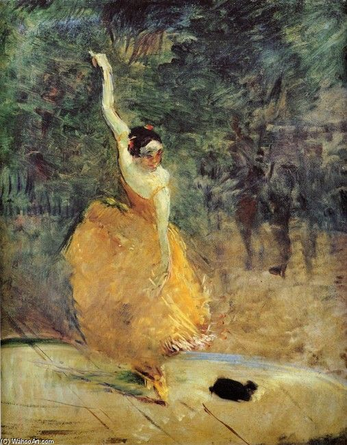 Henri De Toulouse-Lautrec, The Spanish Dancer, 1888