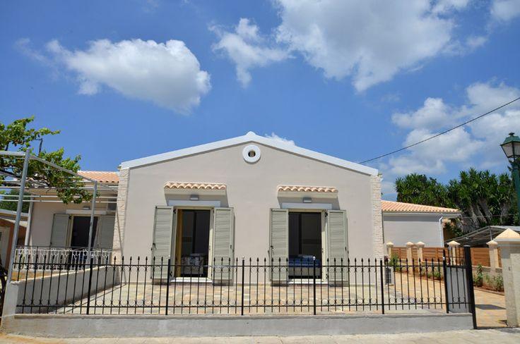 luxury rentals santos in corfu, outside view