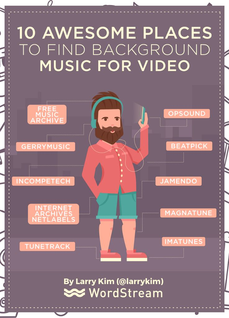 10 Awesome Places to Find Background Music for Video