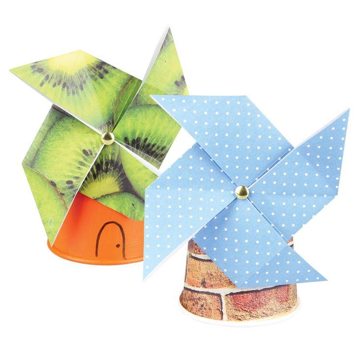 Children's Book Week 2014 - Origami Windmill (The Windy Farm)