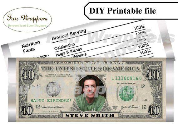 Editable Dollar Bill