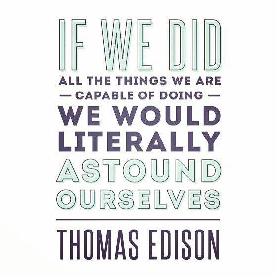 #quote #motivationmonday #thomasedison