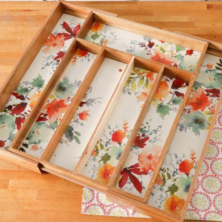 The Pioneer Woman Willow 18 inch x 13 inch Expandable Cutlery Tray