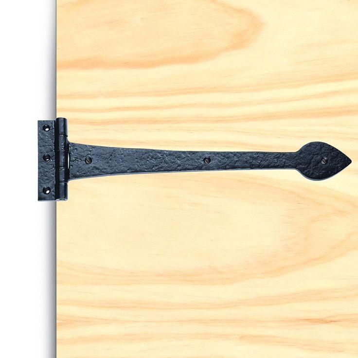 Ludlow LF5515 Antique Black T Hinges, Pair. #falseantiqu3ehingepair #antiquefalsehinge #blackantiquehinge