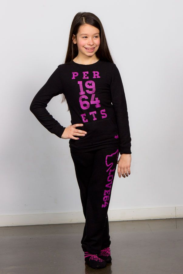 Cozy with attitude, Perets 1964 sweats, Girls outfits, Black, purple print, Love E64 <3